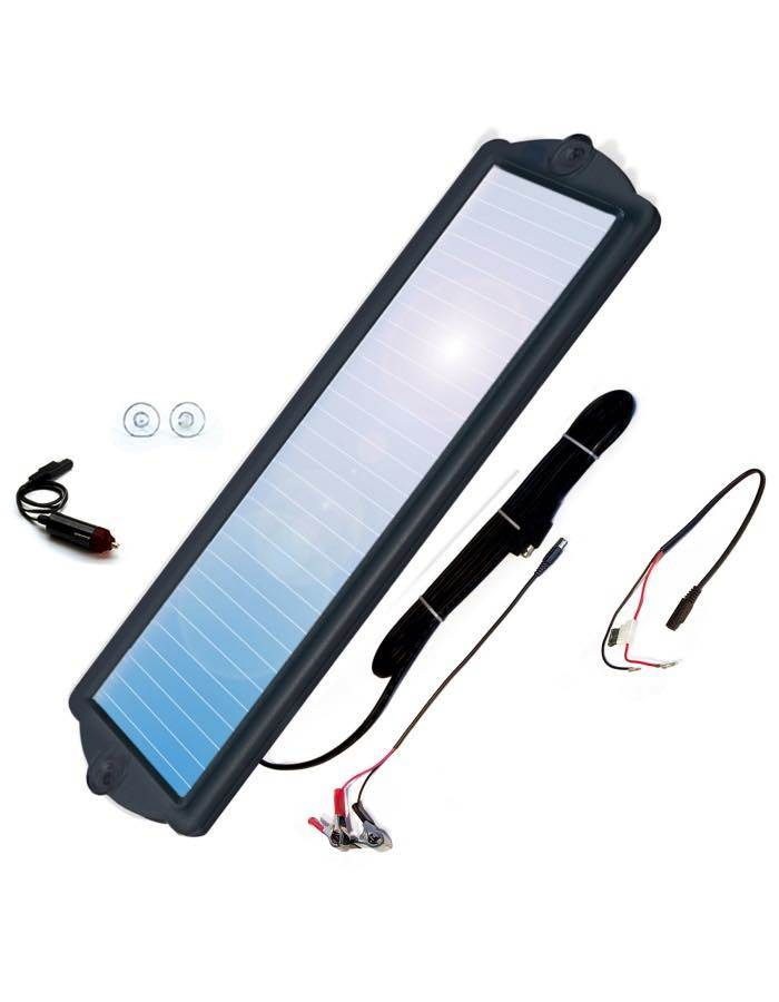 2.5W Solar Battery Maintainer : Coleman