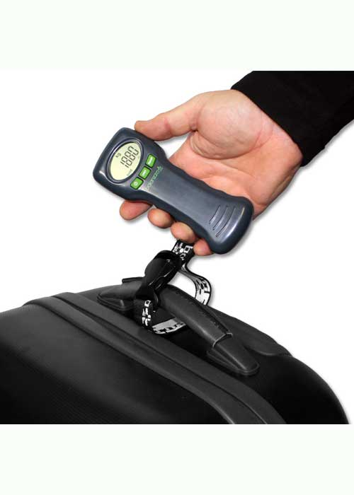Balanzza Ergo Digital Luggage Weight Scales: Grey