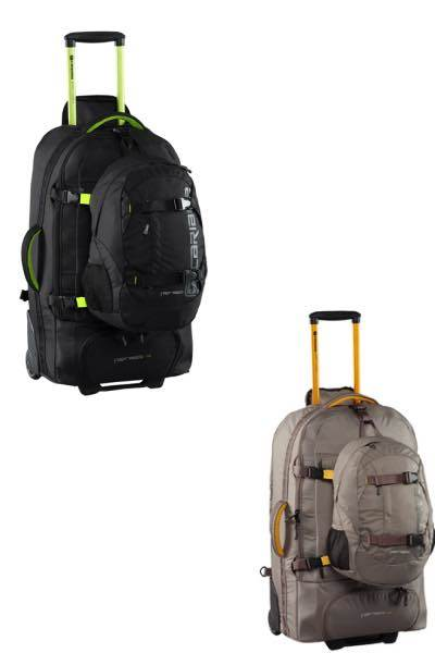 Fast Track 85 : Wheeled Backpack (PLUS 15L Daypack) : Caribee