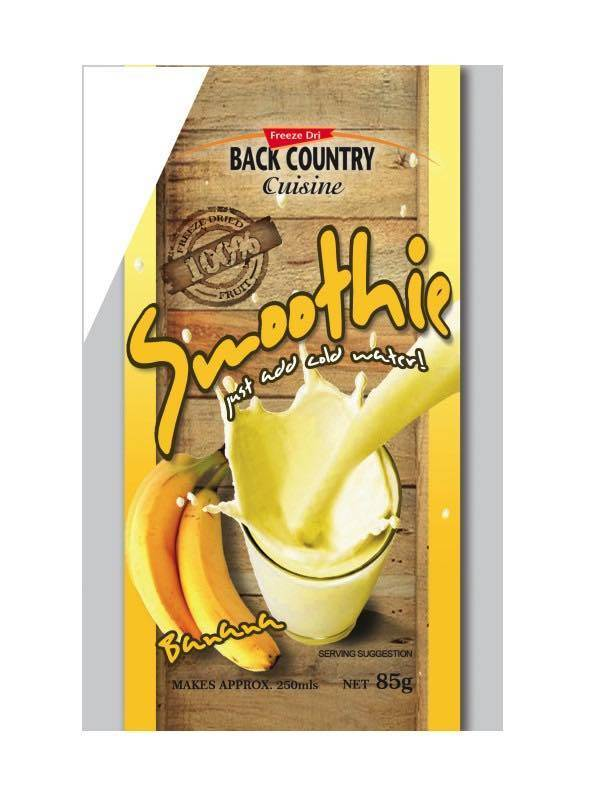 Back Country Cuisine : Banana Smoothie - Single Serve