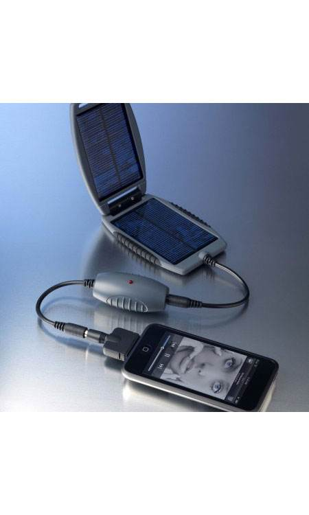 Solar Monkey & Solar Nut: Portable Solar Charger: Small Battery Backup: Grey: Powertraveller