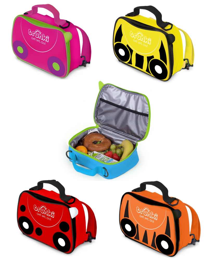 Trunki : 2 in 1 Kids Lunch Bag Backpack - Available in 5 Designs by Trunki ( Lunch-Bag-Backpack)