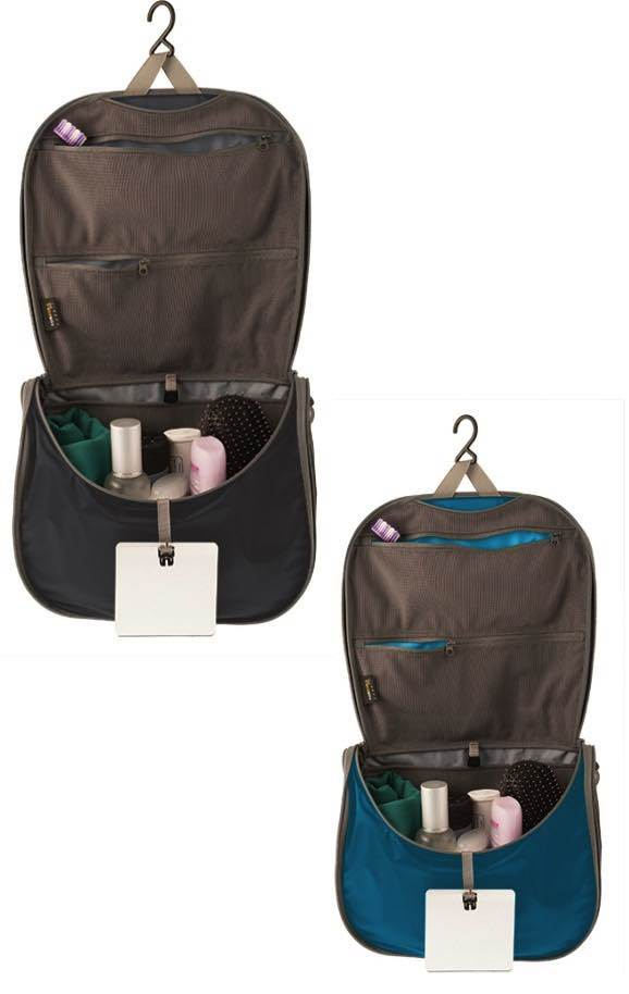 lightweight hanging toiletry bag large sea to summit product image accessories for purposes only