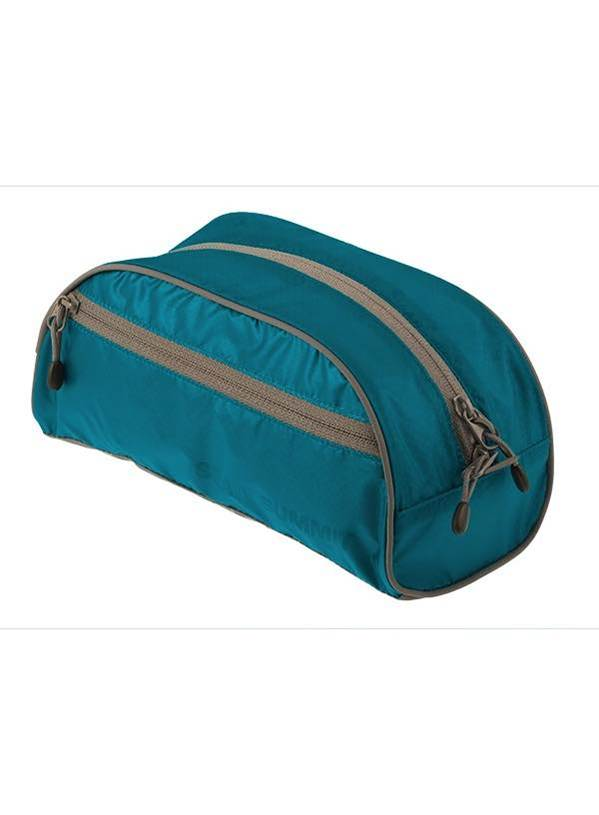 lightweight travel toiletry bag large blue sea to summit product image