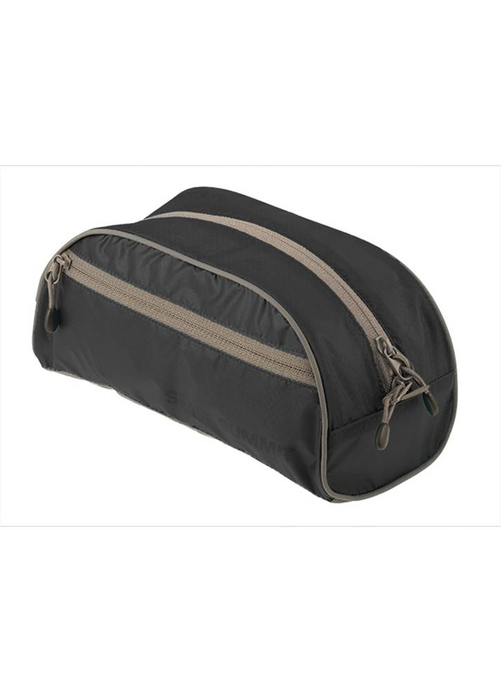 563f4bd198c Lightweight Travel Toiletry Bag : Small - Black : Sea to Summit - Product  Image ...