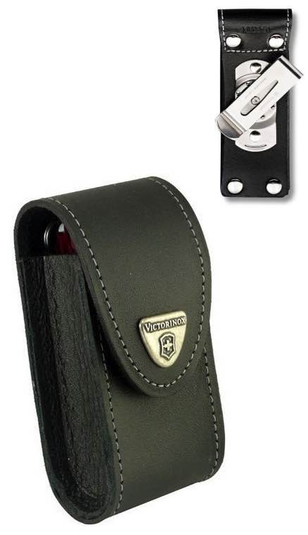 Victorinox 4 6 Layer Leather Sheath Pouch With Rotating