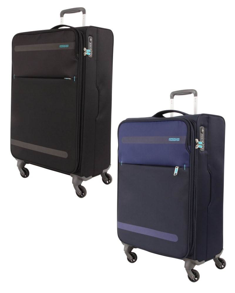 d0351fb95611 American Tourister : Herolite - 69cm 4 Wheel Expandable Spinner Case