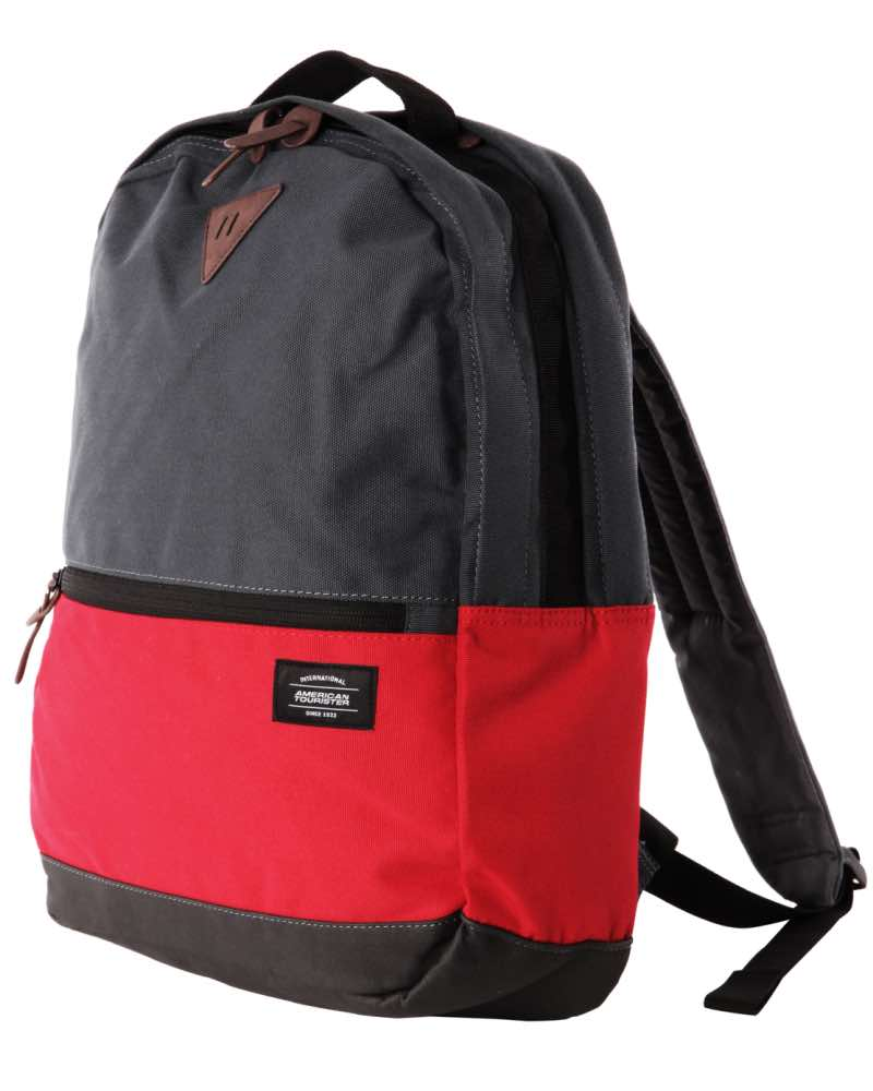 american tourister mod 04 laptop backpack dark grey
