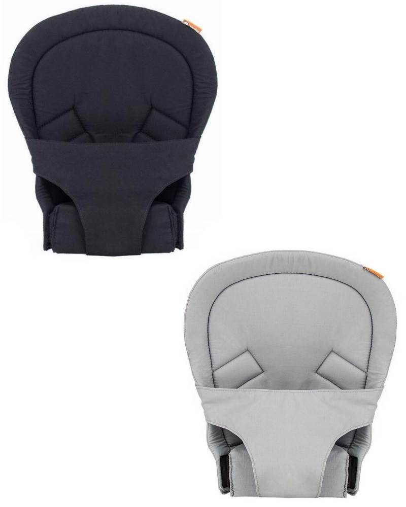 Newborn Carry from 7 ... Baby Tula Gray Infant Insert for Standard Baby Carrier