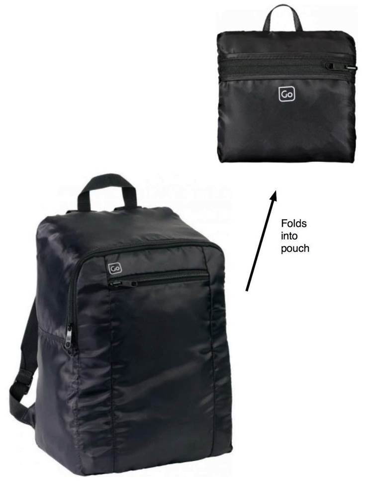 ef72b3be3c34 Go Travel : Large Foldable Lightweight Backpack (Xtra)