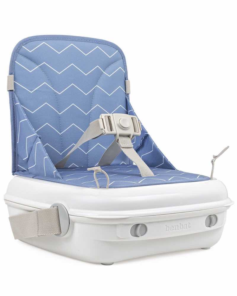 Benbat Yummigo Booster Seat And Storage Case Available In 2 Sugar Baby Infant Blue Adjustable 3 Point Safety Harness Keeping Your Child Safe Secure Place