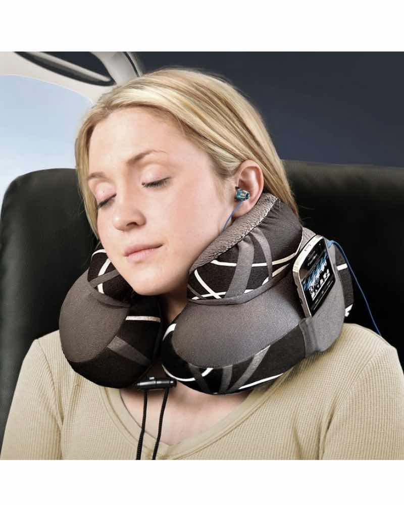 Cabeau Evo Microbead Travel Pillow Grey Swerve By