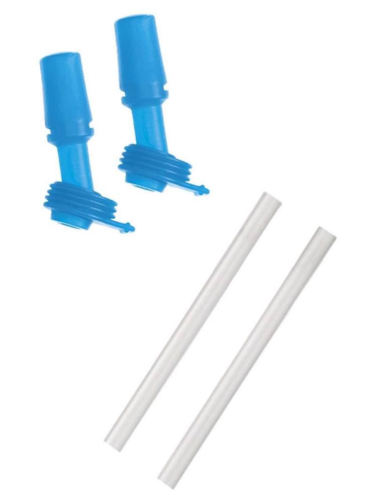 af685e5a95 CamelBak : Eddy Kids Bottle Replacement 2 Bite Valves and 2 Straws - Light  Blue