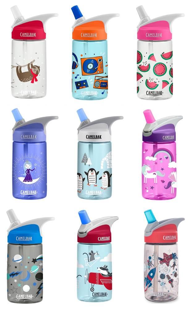 5755039f93 CamelBak Kids Reusable Water Bottle Eddy 400ML - Various Designs Available