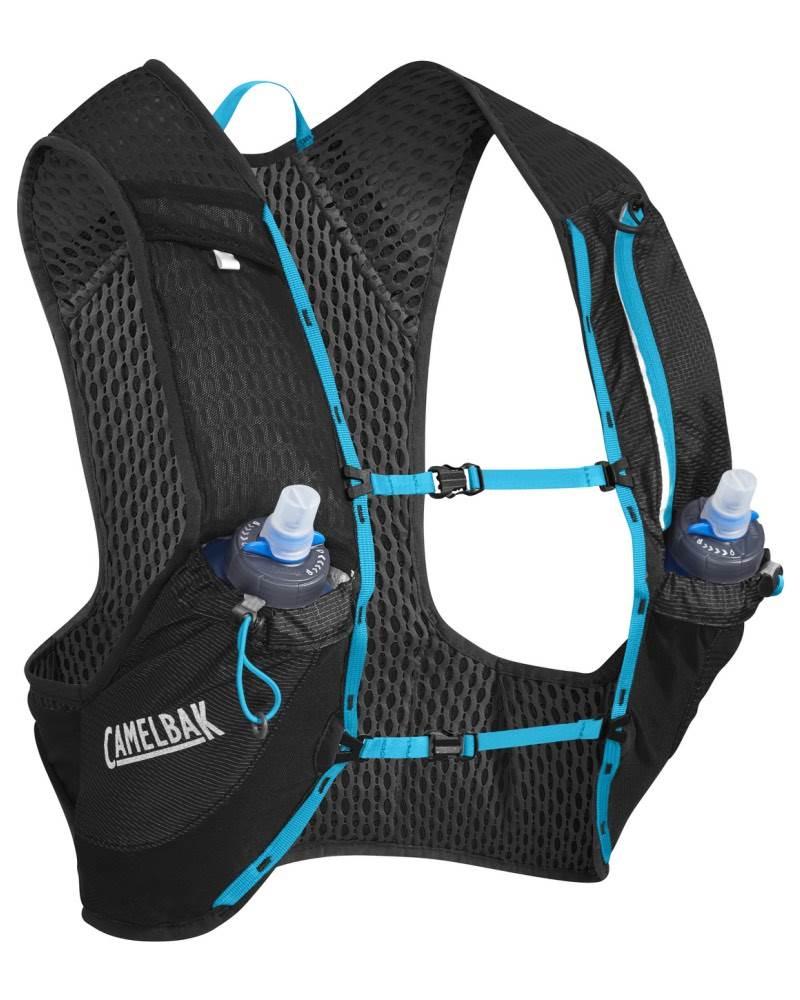 2286d8ecd43 Camelbak Nano Vest 0.5L Quick Stow Flask - Black / Atomic Blue by ...