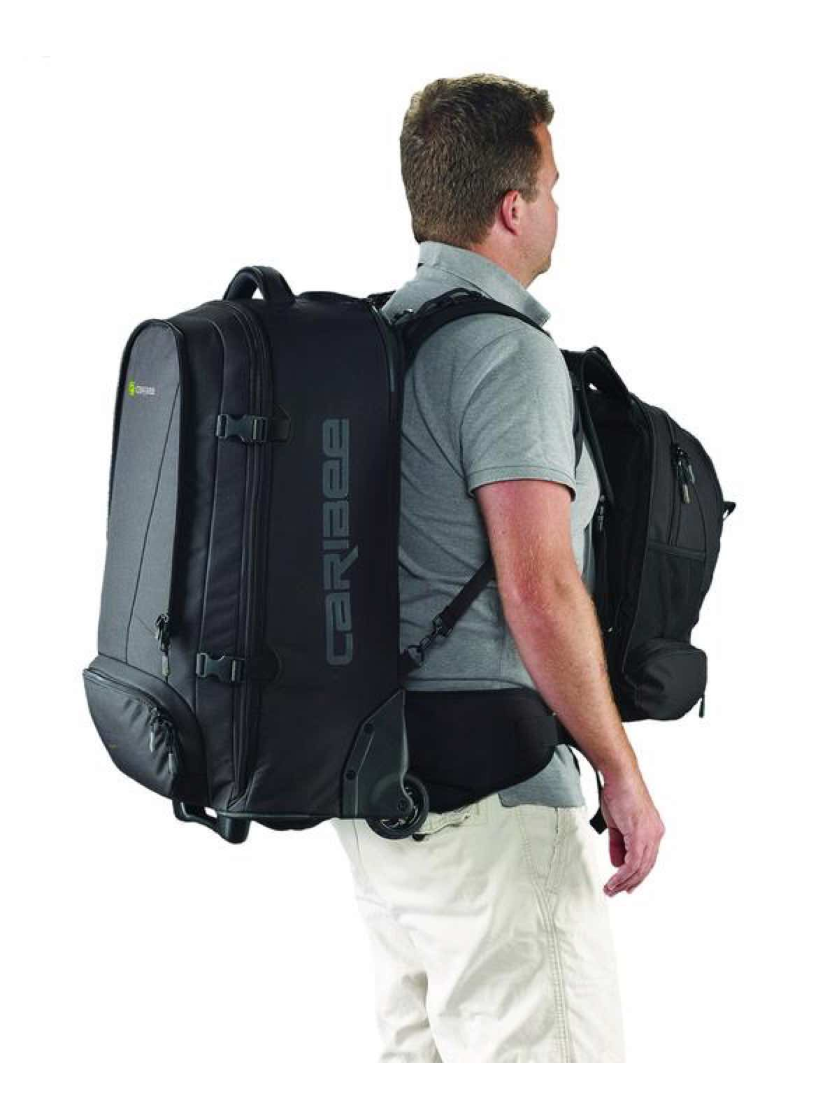 Caribee Sky Master 70 Wheeled Trolley Backpack