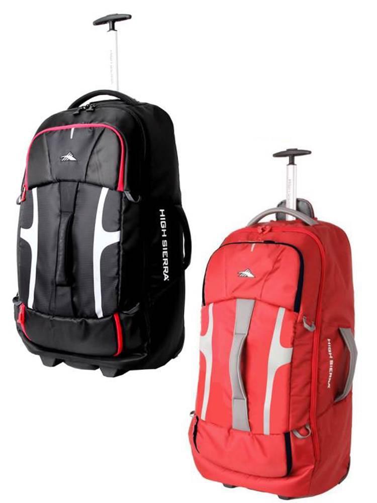 dea4745307e Composite   76cm Wheeled Duffle with Hidden Back Straps   High Sierra by High  Sierra Travel Bags (Composite-76cm-Wheeled-Duffle)