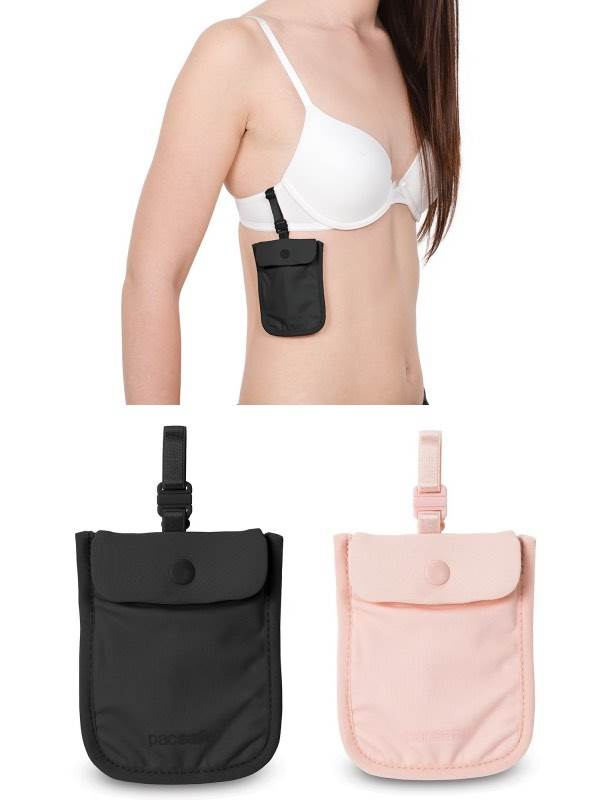 Pacsafe Coversafe S25 Secret Bra Pouch By Pacsafe