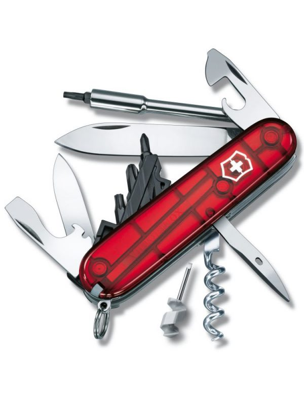 Victorinox Cyber Tool 29 Swiss Army Knife Red By