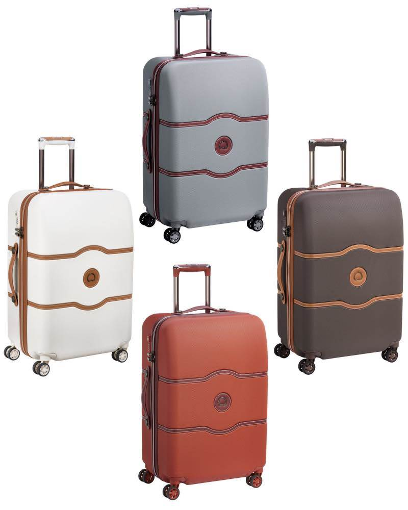 9d3fe0a56 Delsey Chatelet Air - 67 cm 4-Wheel Medium Checked Luggage by Delsey ...