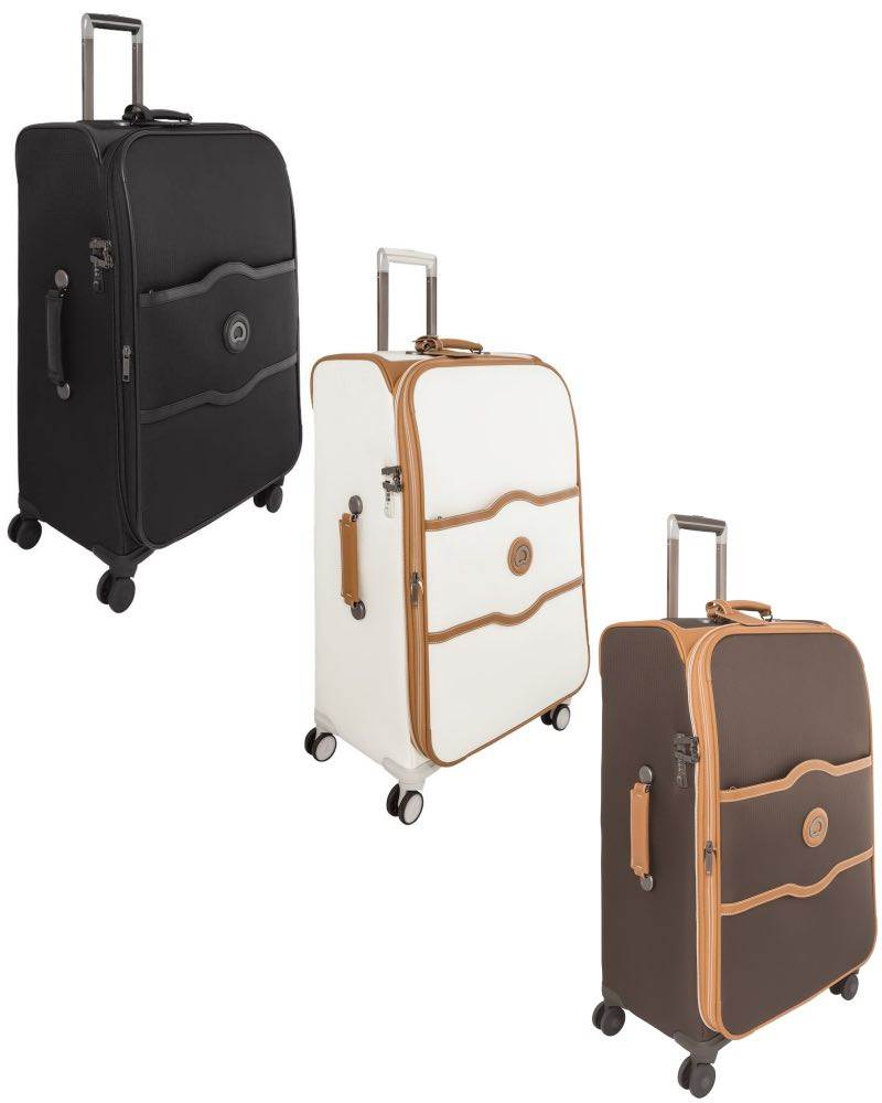 Delsey Chatelet Soft 77 Cm 4 Wheel Large Suitcase By Delsey Travel Gear Chatelet Soft