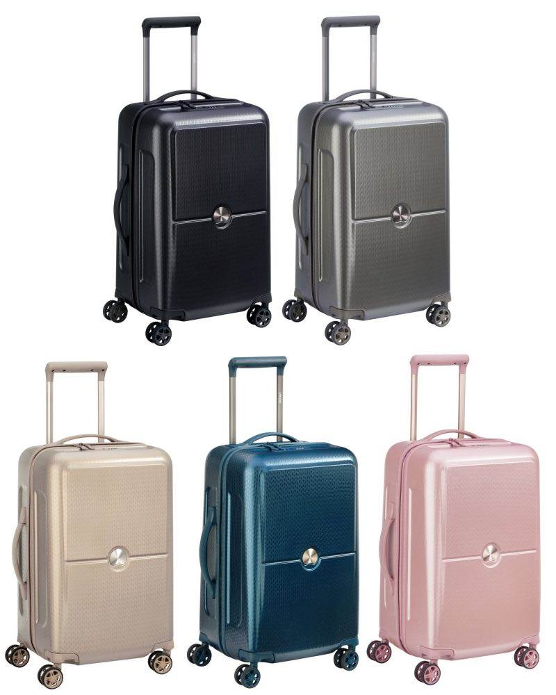 98ed3397c Delsey Turenne - 55cm 4-Wheel Cabin Bag / Carry On Luggage by Delsey ...