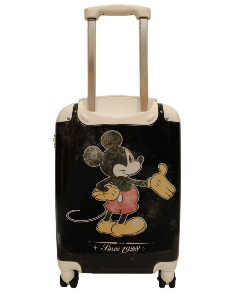 ba2689d8f7 Disney Mickey Mouse - 4 Wheel Spinner Carry-On Cabin Case  Push button  retractable handle ...