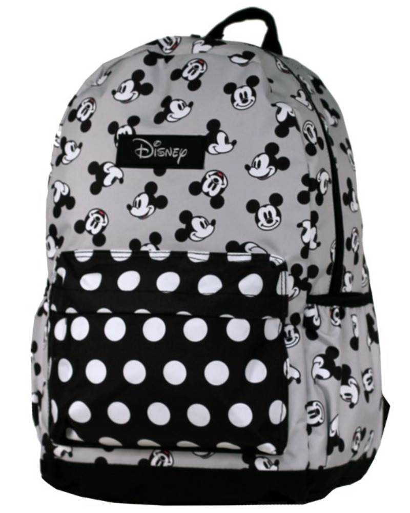 fcd37db2880 Disney - Mickey Mouse Backpack - Black Grey - 42 cm by Disney (DIS140)