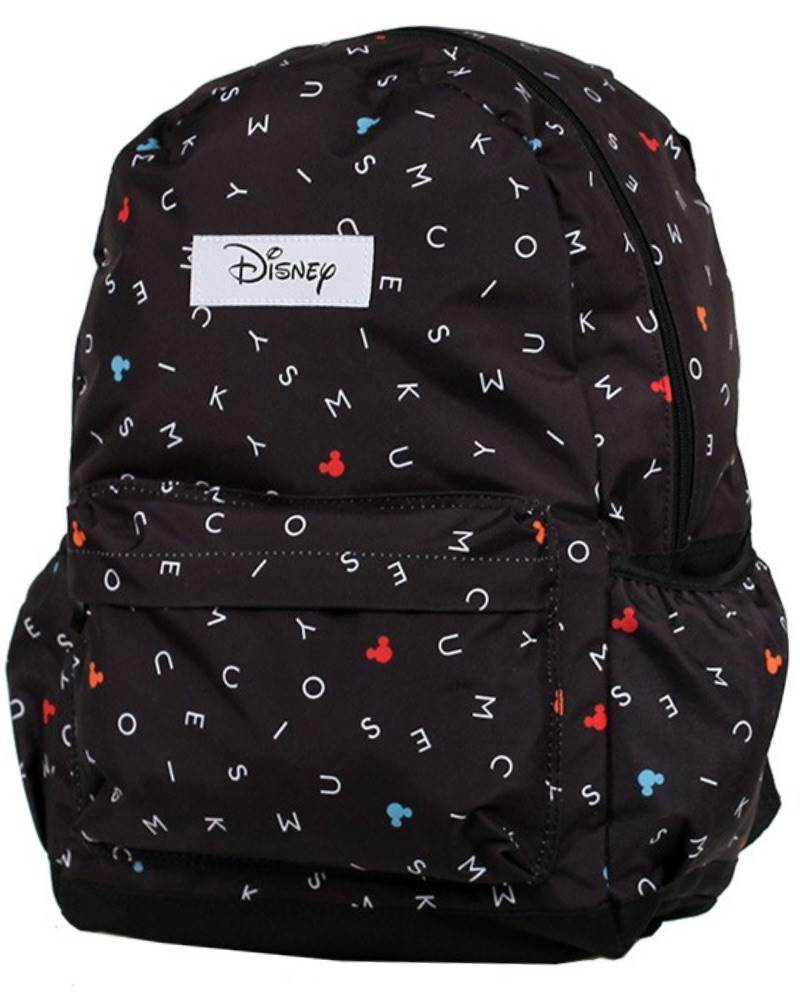 6381be813b7 Disney - Mickey Mouse Backpack - Dark Grey Design - 42 cm by Disney (DIS141)