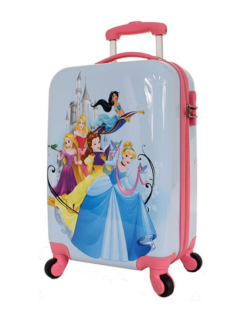 15dfc151a11 Disney Princess - 4 Wheel Carry-On Cabin Case by Disney (DIS123-19)