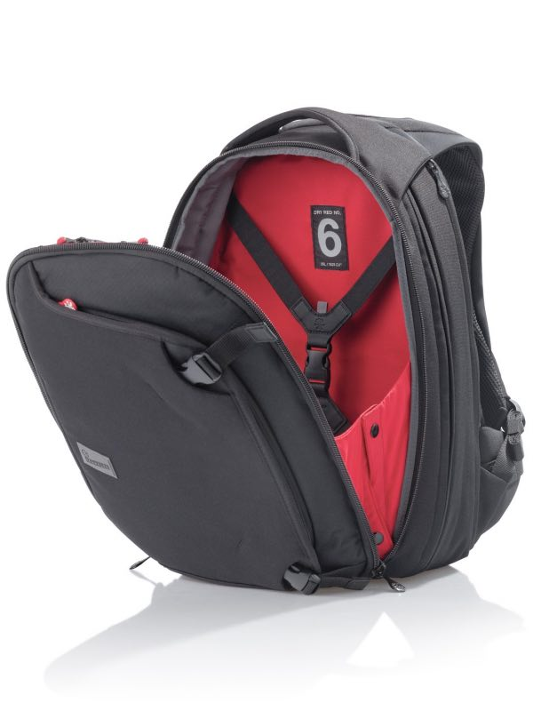 aaed4767a0 ... Dry Red No 6 - Travel Backpack - Black   Crumpler - DR6002-B00150 ...