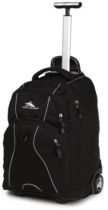Freewheel Wheeled Backpack Black High Sierra By High