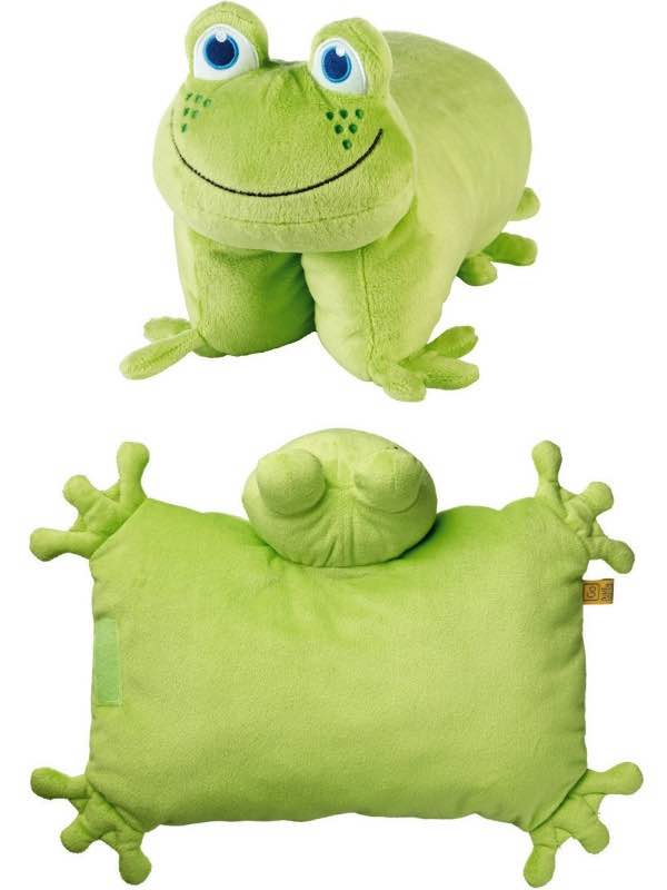 Frog Folding Pillow Go Travel Kids By Go Travel Gt2694