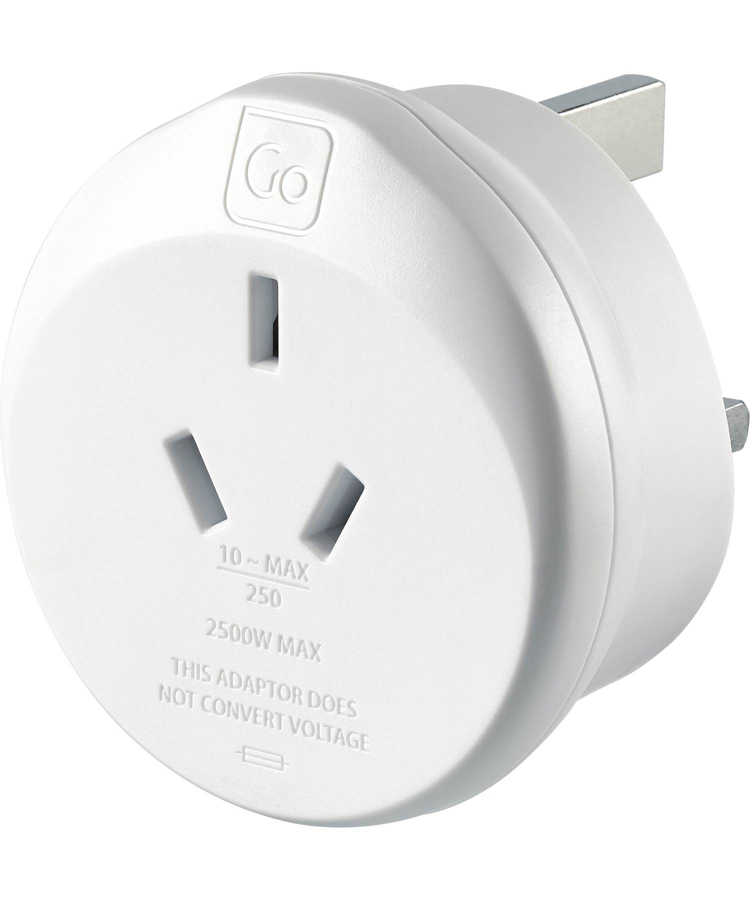 Go Travel Australia To Uk Britain Electrical Adaptor By Go Travel