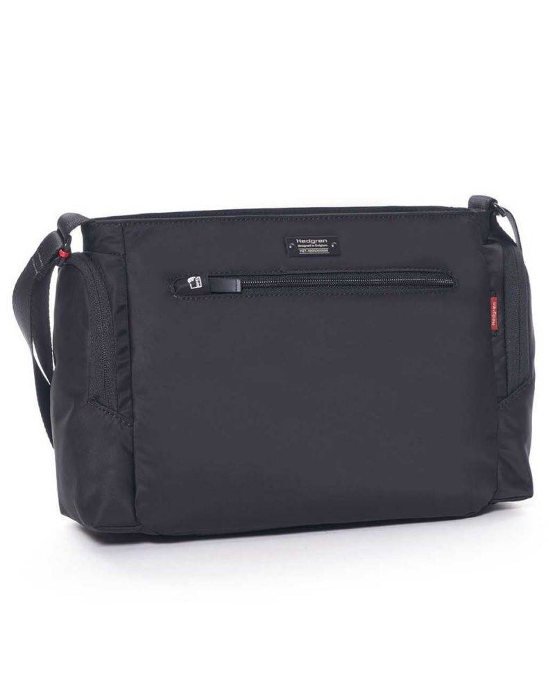 Hedgren COMMUTER Horizontal Crossover Bag with RFID - Black by ... 07c615e863410