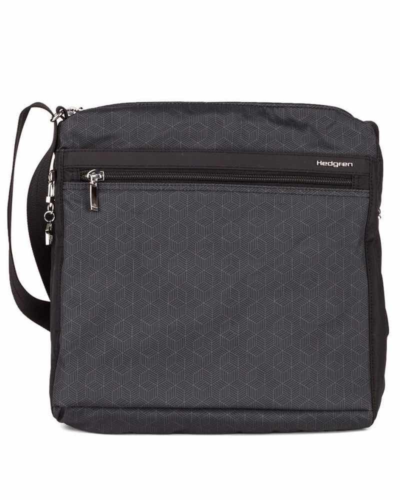 ... Hedgren   FANZINE - Shoulder Bag with RFID Pocket - Cube Print -  IC123.812 ... e48c5d1bbb016