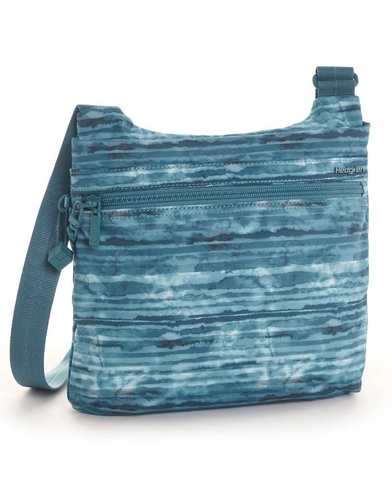 b709a44d8913 ... Hedgren Faith Crossover Shoulder Bag with RFID Pocket - Aqua Print ...