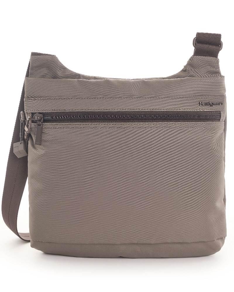33808cb76d5d ... Hedgren Faith Crossover Shoulder Bag with RFID Pocket - Sepia ...
