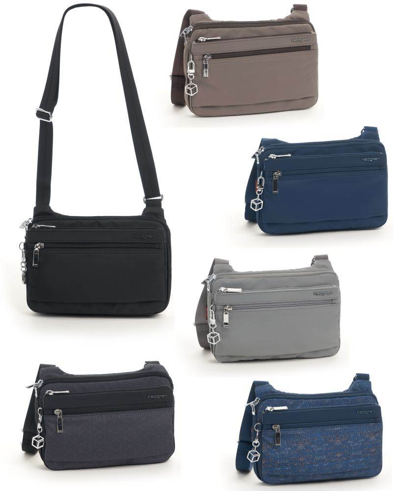63543831a1f0 Hedgren Sally Crossover Shoulder Bag with RFID Pocket by Hedgren (Sally- Crossover-Bag)