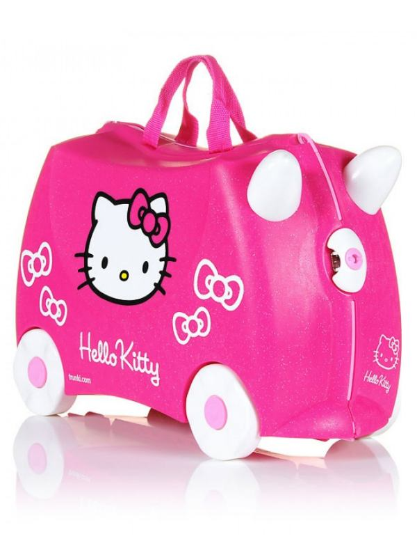 Hello Kitty - Ride on Suitcase / Luggage : Carry-on Bag : Pink ...