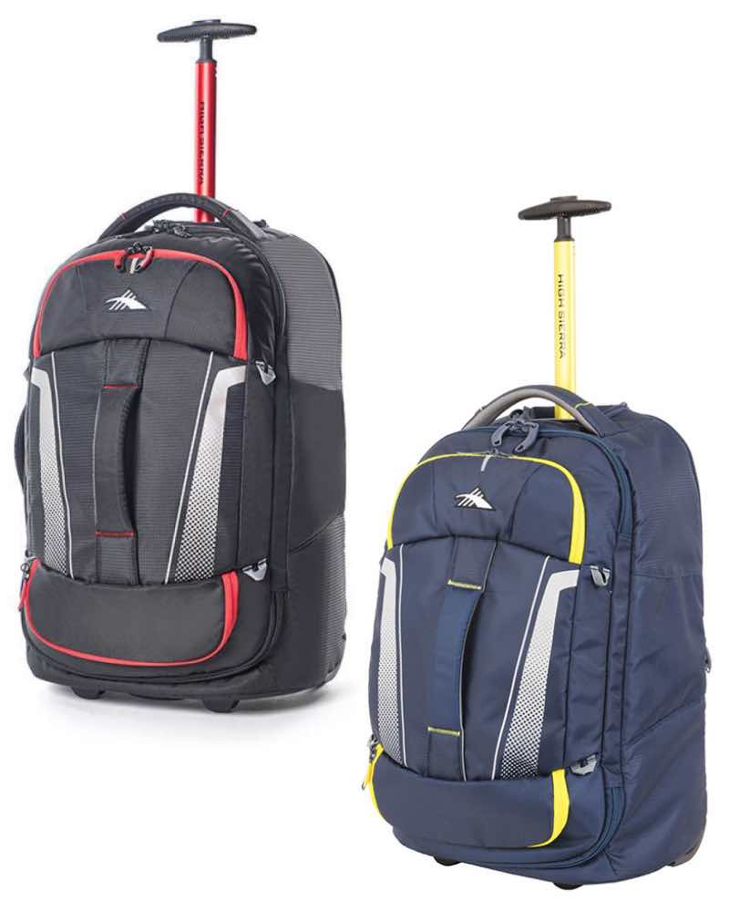 58f2460e79c5 ... High Sierra   Composite V3 - 56 cm Wheeled Duffle with Hidden Back Strap  ...