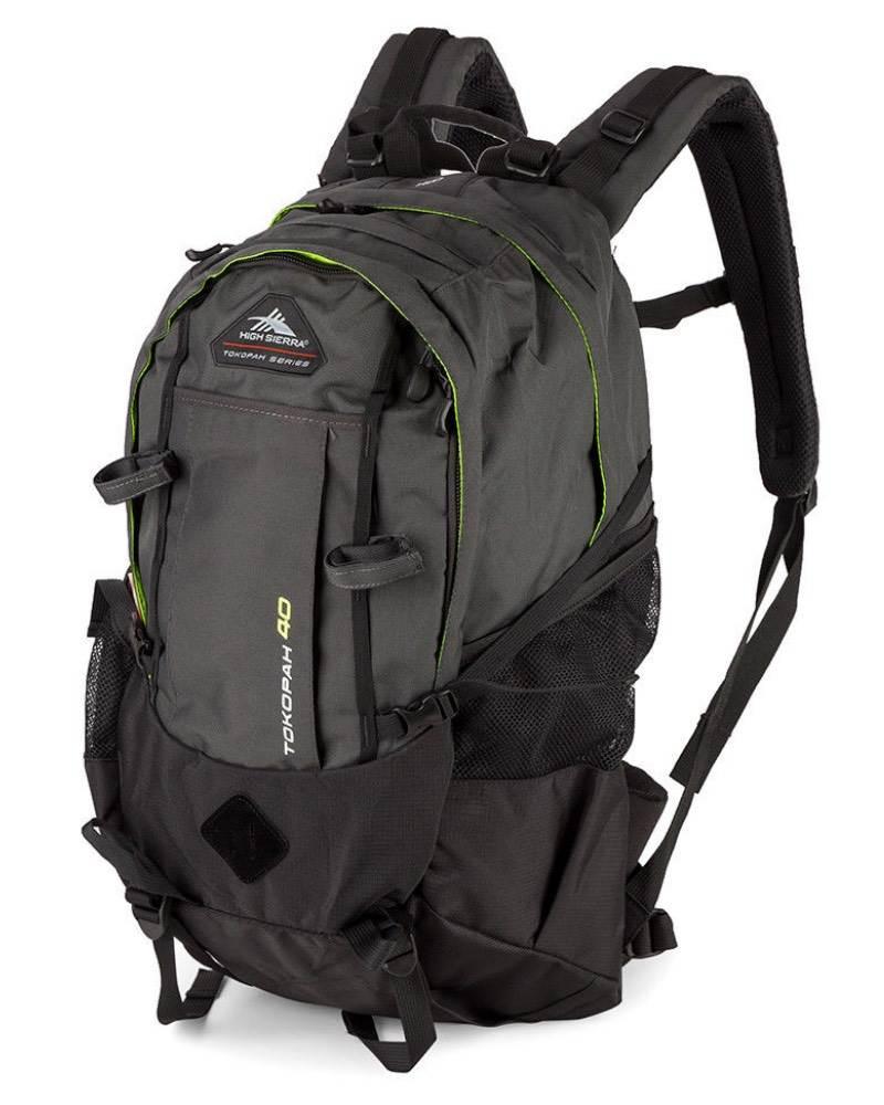 9bddbf74bf5b1 High Sierra   Tokopah 40 - Hiking Backpack - Raven   Zest by High ...