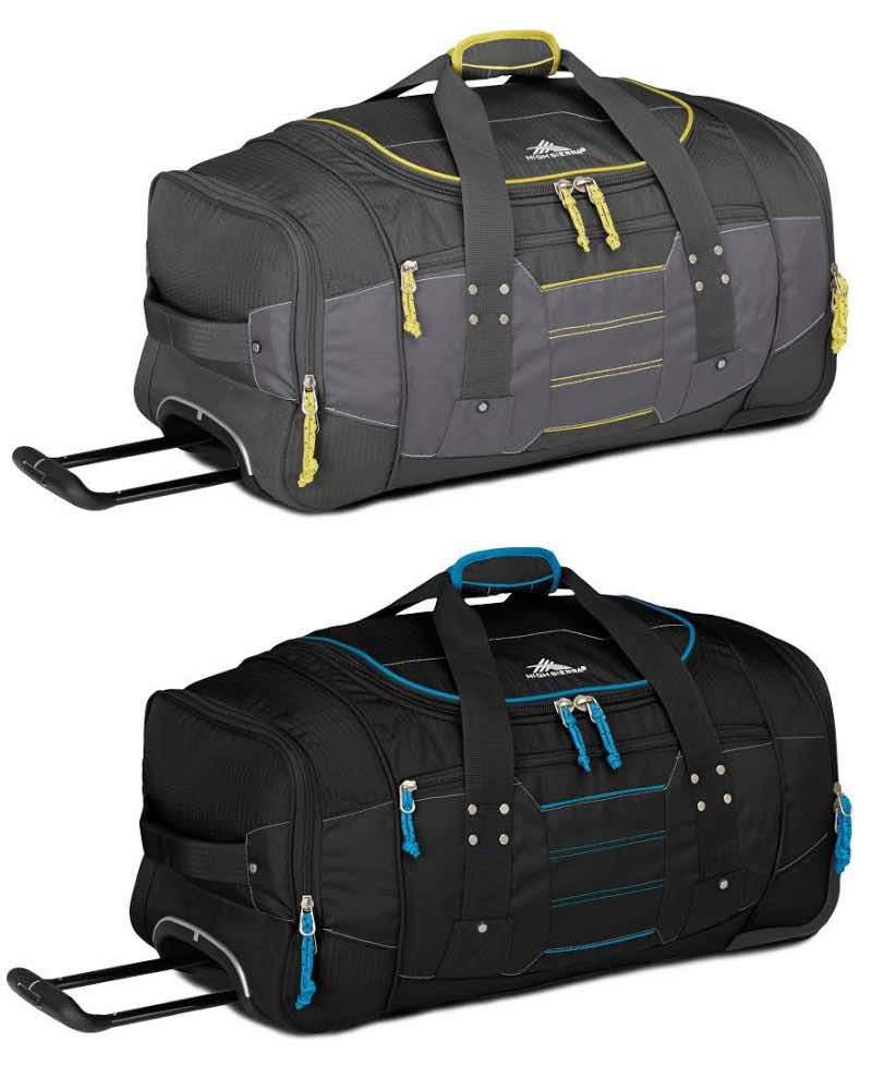 High Sierra   Ultimate Access - 48cm Wheeled Duffle (with Hidden Back  Straps) 105308e8d18de