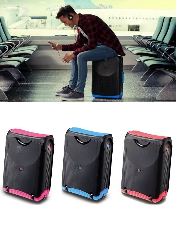 Jurni The Ultimate Sit On Carry On Wheeled Luggage By