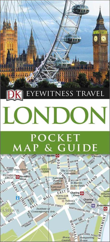 London Map Guide.Dk Eyewitness Travel Pocket Map Guide London