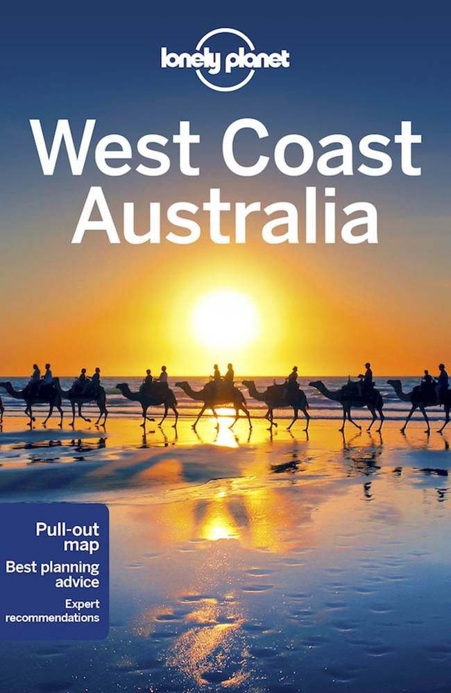 Australia West Coast Map.Lonely Planet West Coast Australia Edition 9