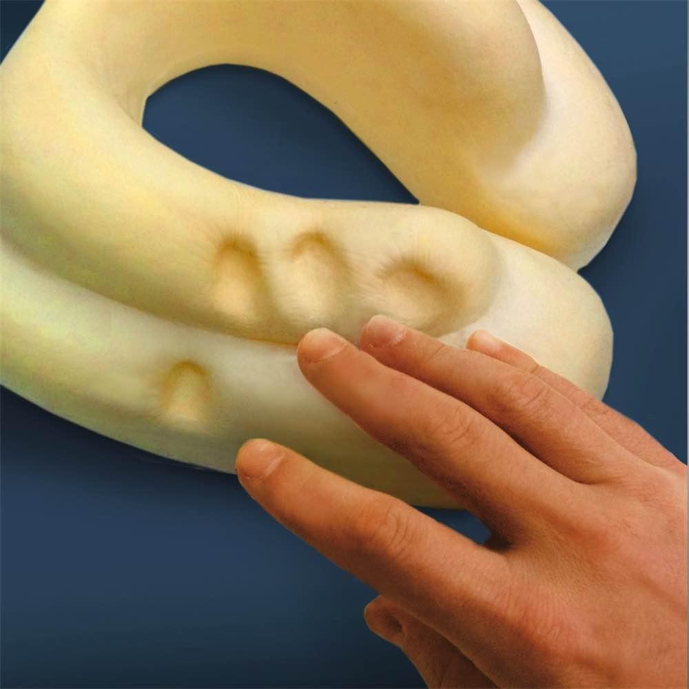 cabeau evolution memory foam travel pillow with ear plugs 5 colours evolution