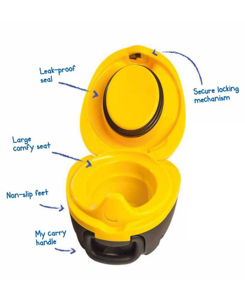 My Carry Potty Portable Travel Baby Potty Toilet Training Bumble Bee Design