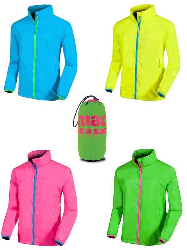 Neon Waterproof Packaway Jacket Small Mac In A Sac By Mac In A Sac Small Neon Jacket