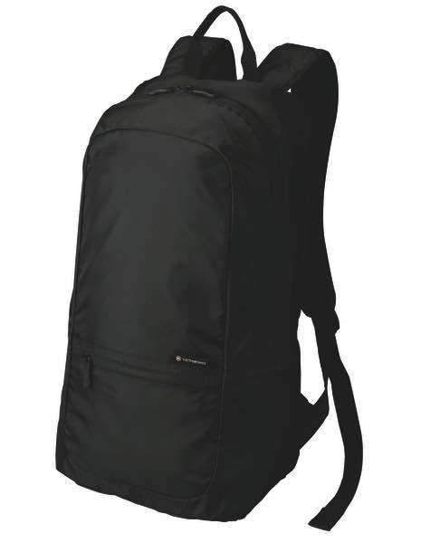 b17a84624f69 Victorinox Foldable Backpack - Black
